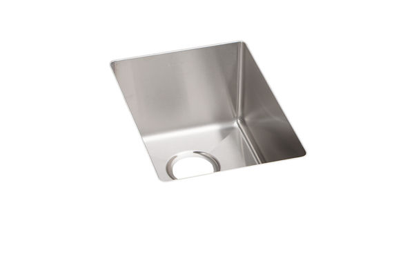 Crosstown Stainless Steel Single Bowl Undermount Bar Sink