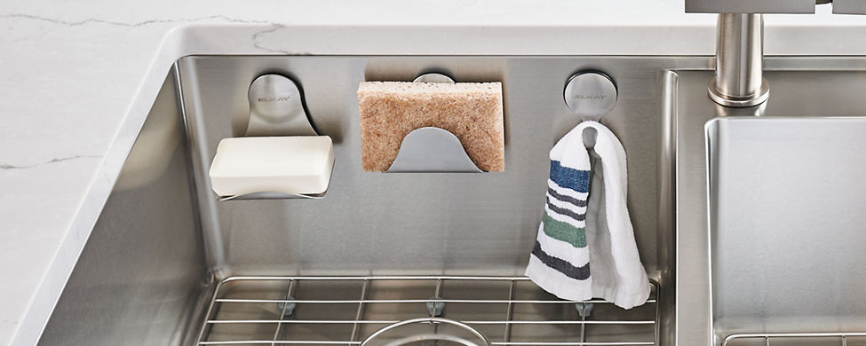 Elkay Stainless Steel Sink Accessories And Organization