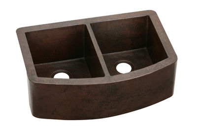 Image for Harmony Copper Double Bowl Apron Front Undermount Sink from elkay-consumer