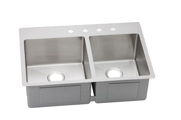 Avado Stainless Steel Double Bowl Dual / Universal Mount Sink