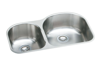 Image for Harmony (Elumina) Stainless Steel Double Bowl Undermount Sink Kit from elkay-consumer