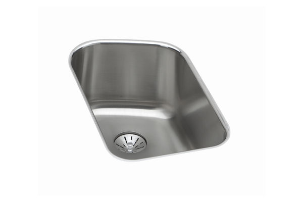 Harmony (Lustertone) Stainless Steel Single Bowl Undermount Sink Kit