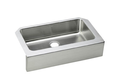 Image for Gourmet (Lustertone) Stainless Steel Single Bowl Apron Front Undermount Sink from elkay-consumer