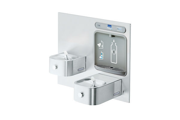 EZH2O® Bottle Filling Station with Integral Soft Sides® Fountain