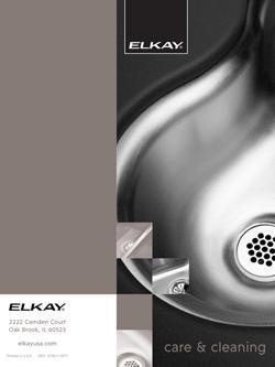 Elkay Cleaning Guide