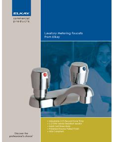 2009 Elkay Metering Faucets (F-4302)