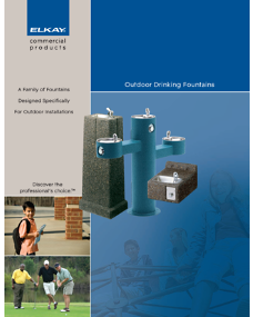 2010 Outdoor Drinking Fountains (F-4305)