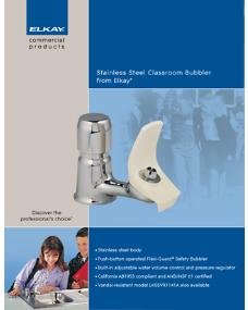2009 Elkay Stainless Steel Classroom Bubbler (F-4364)