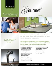2009 Gourmet Faucet (F-4405)