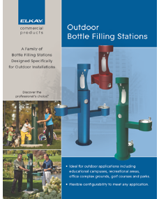 2011 Outdoor Bottle Filling Stations (F-4508)