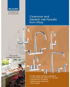 2014 Classroom and General Use Faucets from Elkay(F-4574)