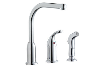Image for Everyday Kitchen Faucet with Remote Handle and Side Spray from elkay-consumer