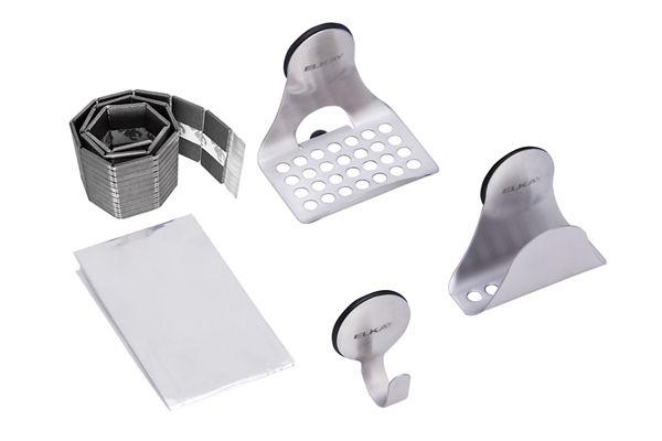 SinkMate Kit with Hook, Sponge Holder and Ledge