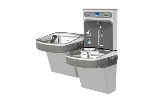 Filtered EZH2O® Bottle Filling Station with Bi-Level ADA Cooler