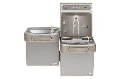 Image for Filtered EZH2O® Bottle Filling Station with Versatile Bi-Level Green ADA Cooler from elkay-consumer