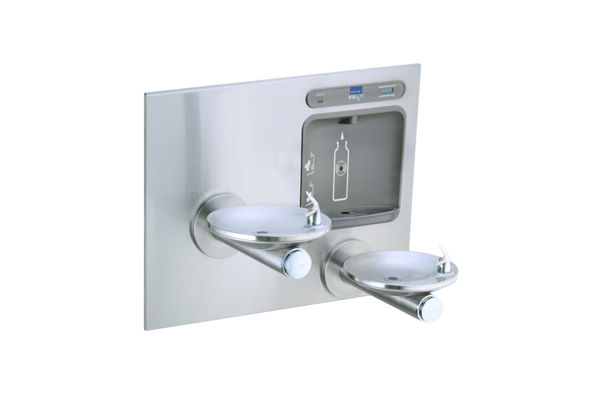 Filtered EZH2O® Bottle Filling Station with Integral SwirlFlo® Fountain