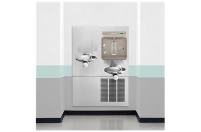 Image for Filtered EZH2O® Bottle Filling Station with Integral Refrigerated SwirlFlo® Fountain from elkay-consumer