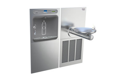 Image for Filtered EZH2O® Bottle Filling Station with SwirlFlo® Green Single Refrigerated Fountain from elkay-consumer