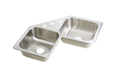 Image for Neptune Stainless Steel Double Bowl Top Mount Sink from elkay-consumer