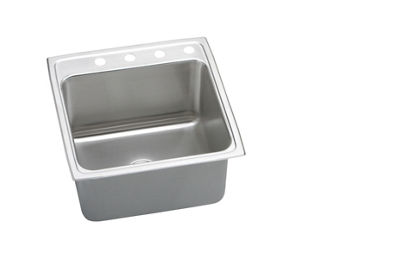 Image for Pursuit Stainless Steel Single Bowl Top Mount Sink from elkay-consumer