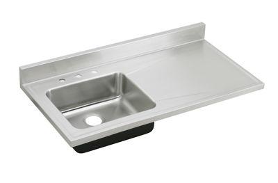 Image for Gourmet (Lustertone) Stainless Steel Single Bowl Sink Top Sink from elkay-consumer