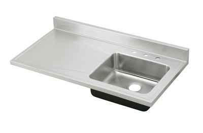 Image for Gourmet (Lustertone) Stainless Steel Single Bowl Sink Top Sink from elkay-consumer