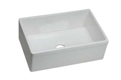 Image for Explore Fine Fireclay Single Bowl Apron Front Undermount Sink from elkay-consumer