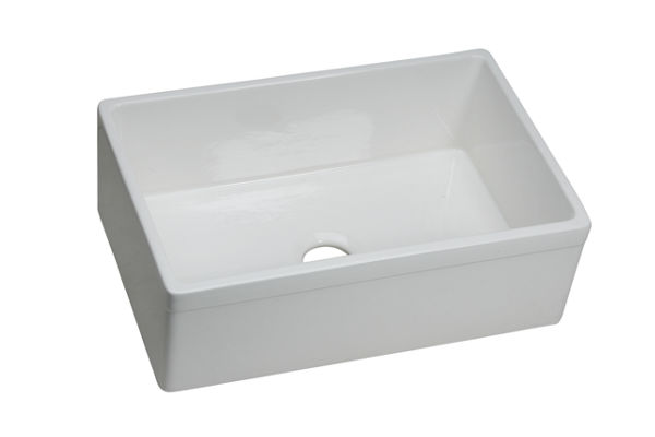 Explore Fine Fireclay Single Bowl Apron Front Undermount Sink