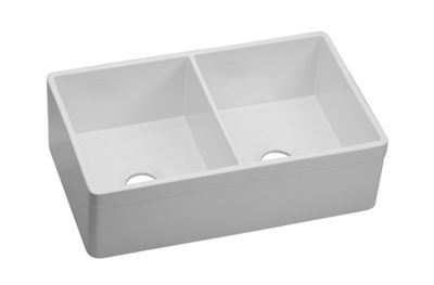 Image for Explore Fine Fireclay Double Bowl Apron Front Undermount Sink from elkay-consumer