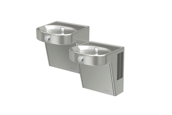 Filtered Heavy-Duty Vandal-Resistant Wall Mount Bi-Level ADA Cooler