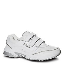 men's comfort trainer strap in white