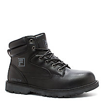 men's landing steel in black