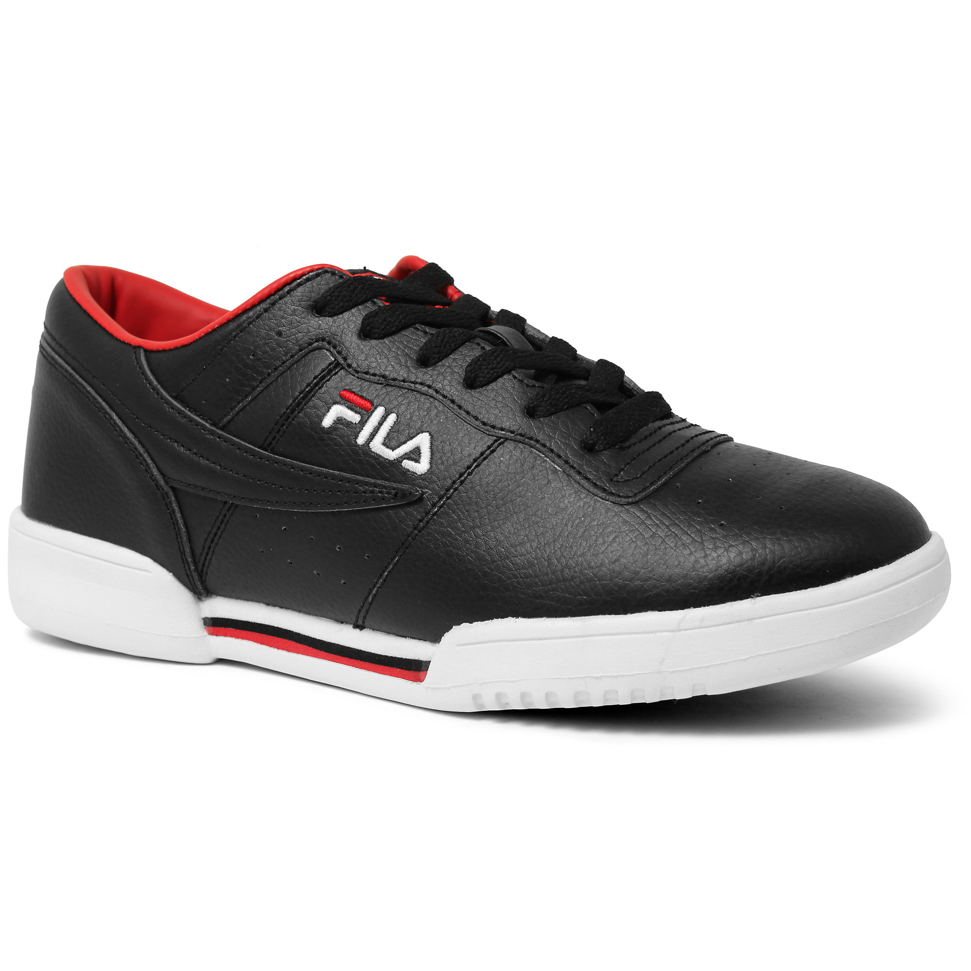 men's original fitness in black/ white/ chinese red