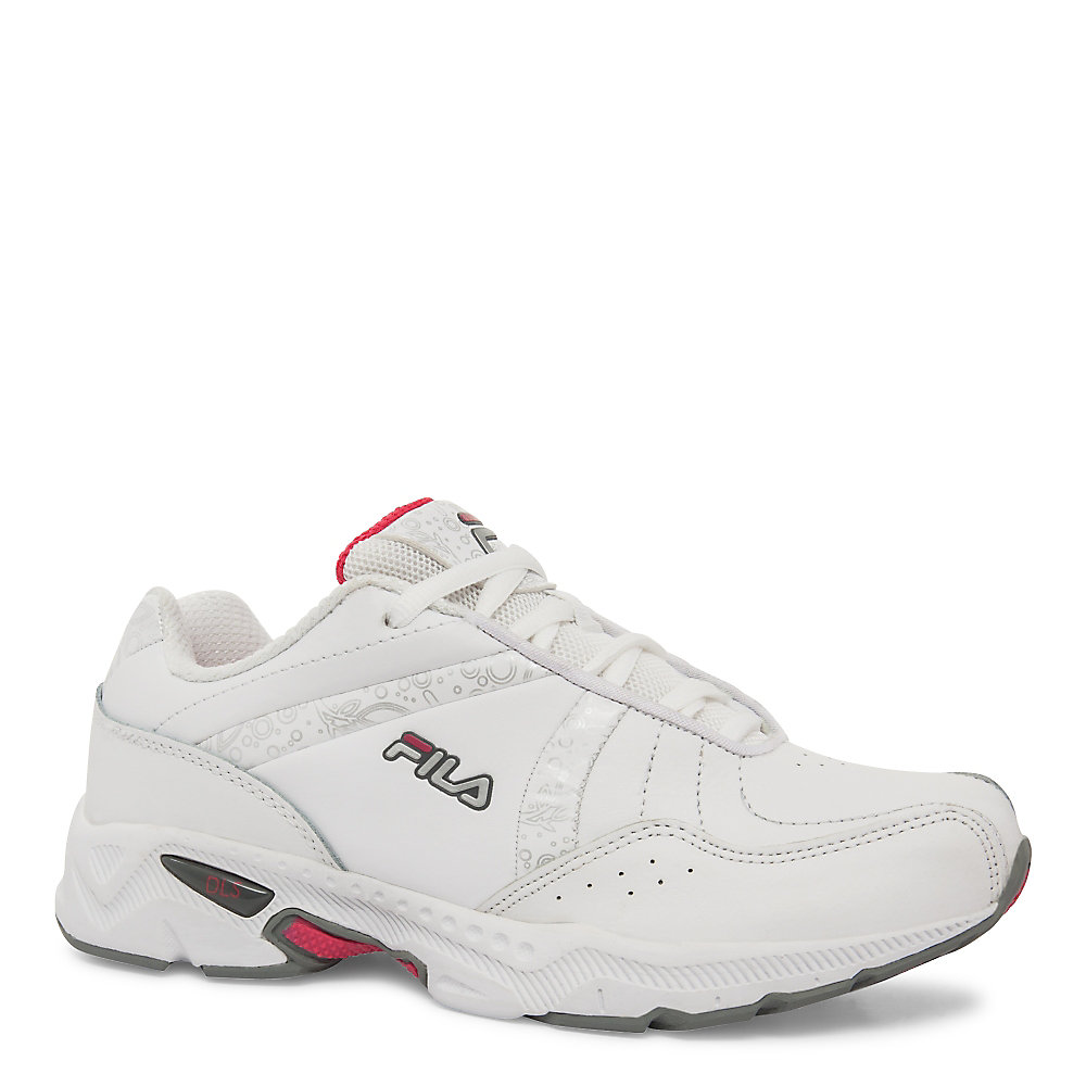 Women's fila admire wide in white