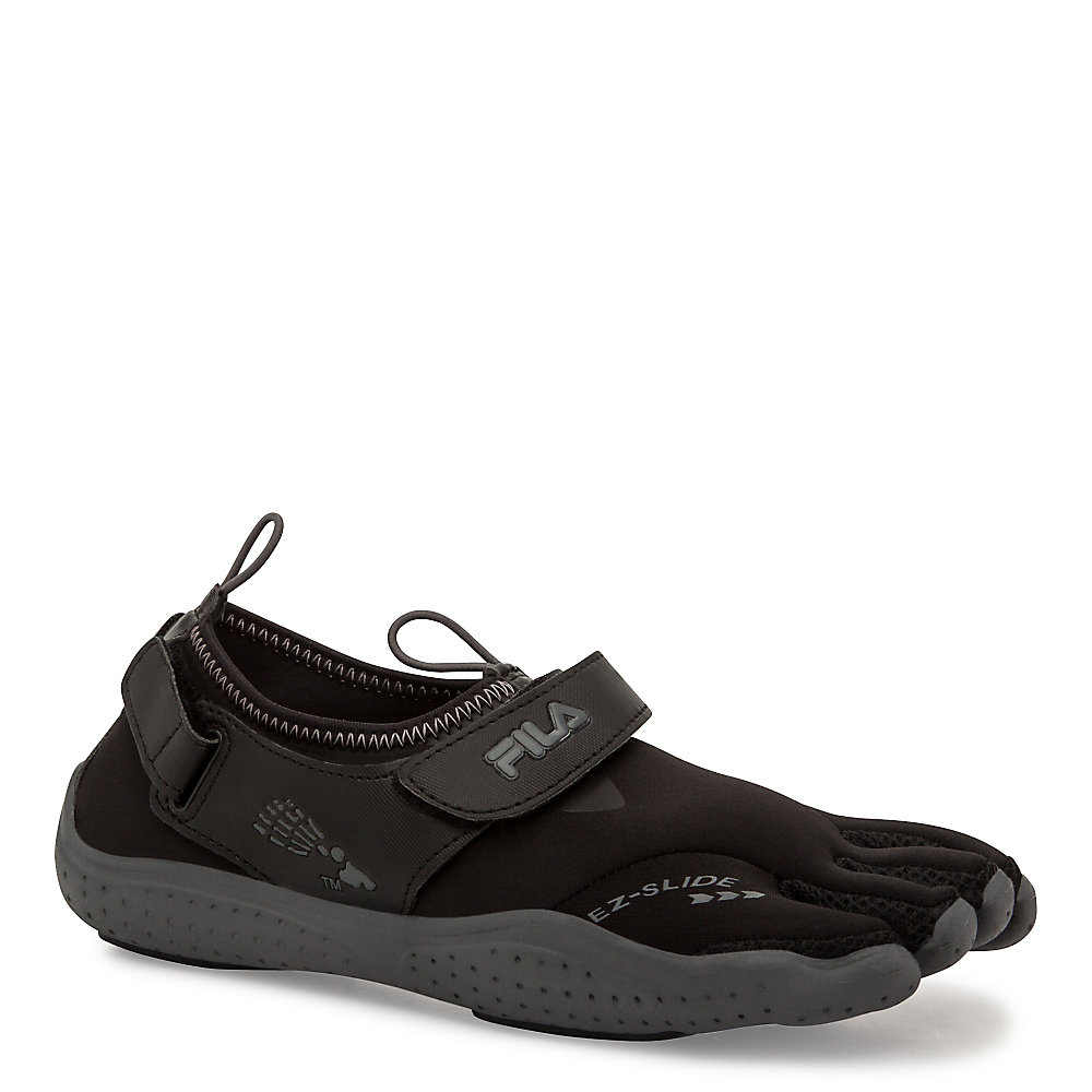 women's skele-toes ez slide drainage in black