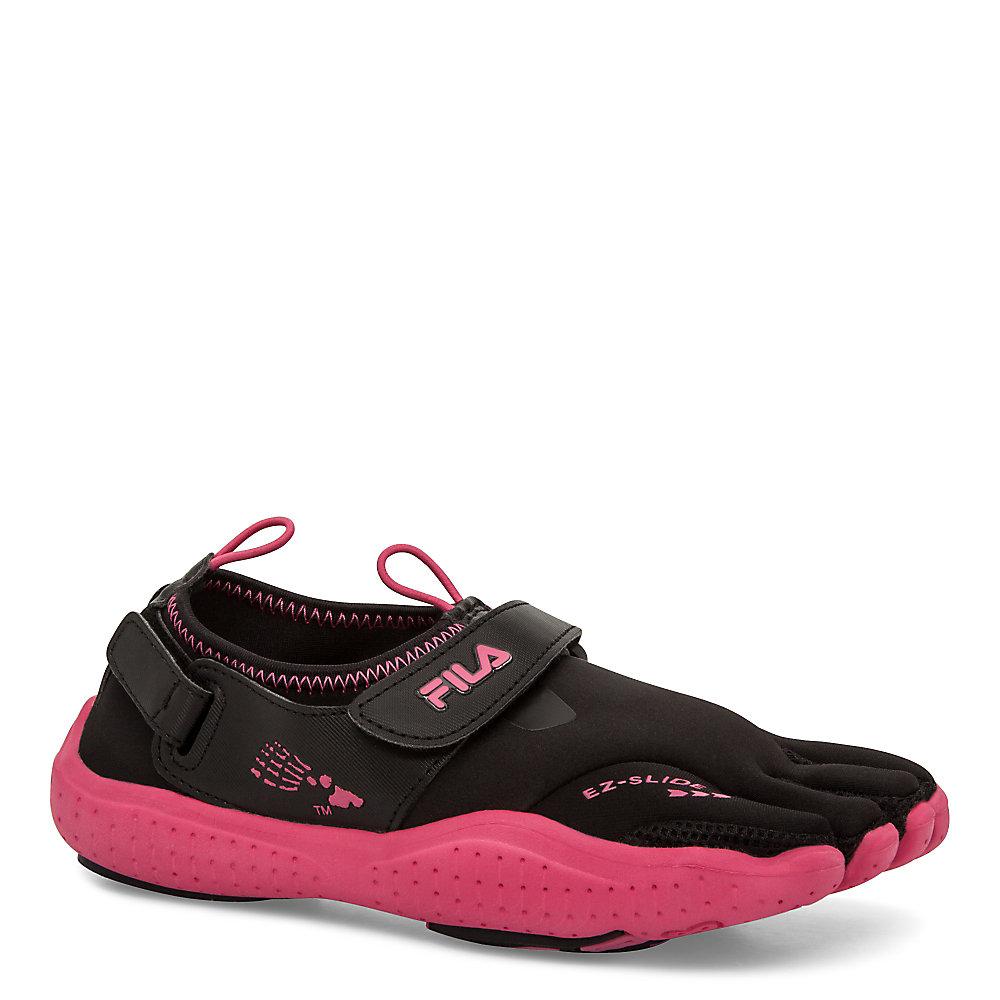 women's skele-toes ez slide drainage in shockingpink