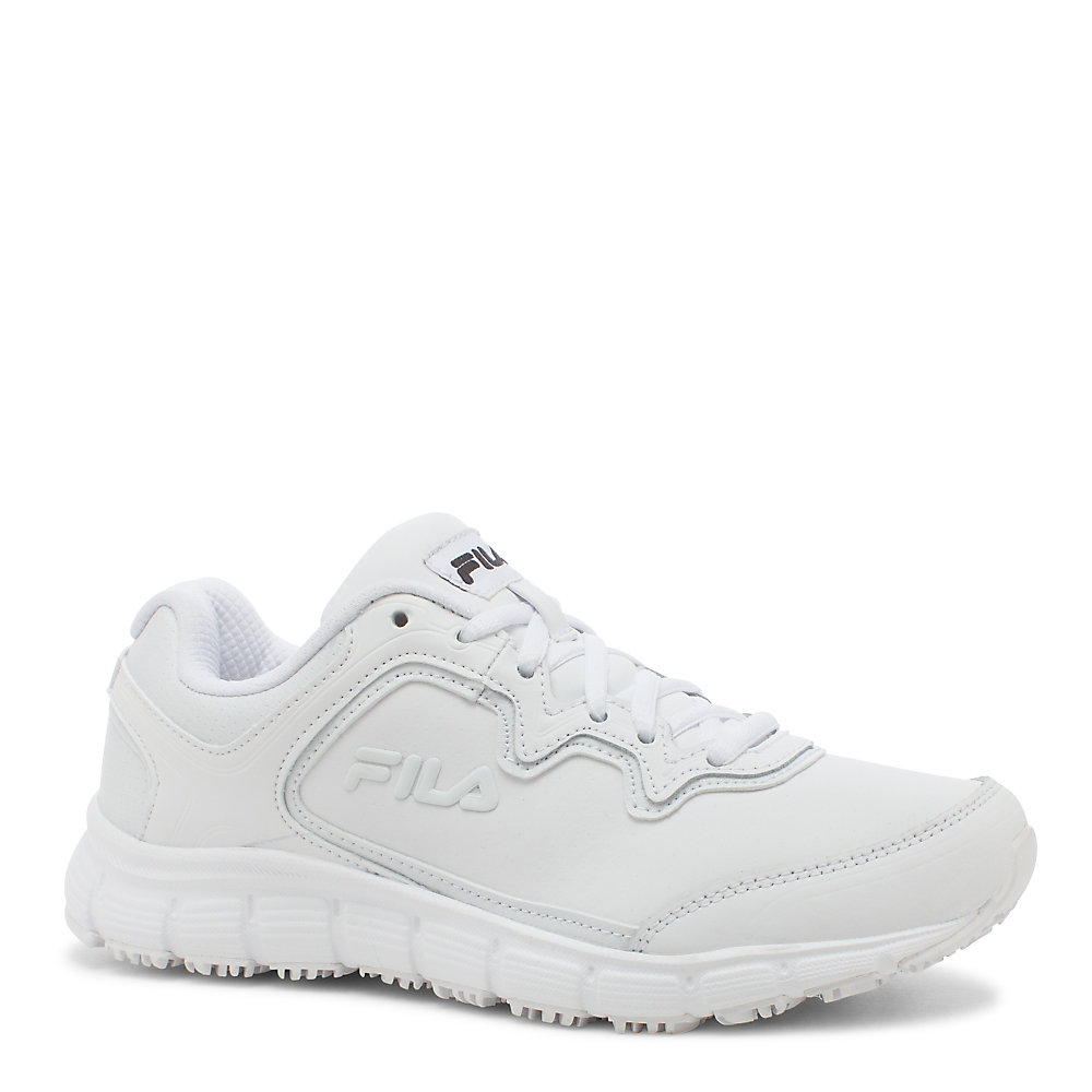 women's memory fresh start slip resistant in white