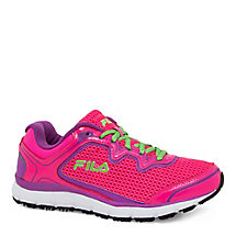 women's memory fresh start slip resistant in shockingpink