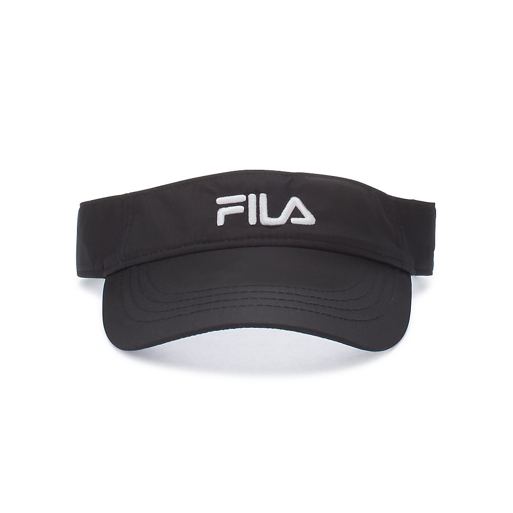 performance runner visor in black