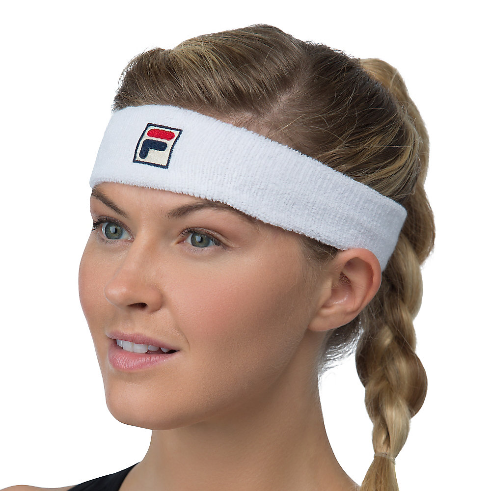 solid headband in offwhite