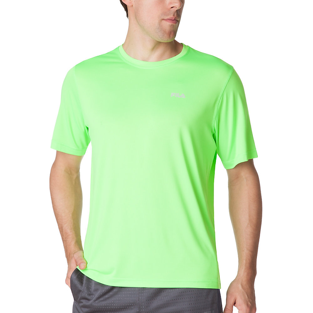 performance heather short sleeve tee in FM121P44_359_sw_e
