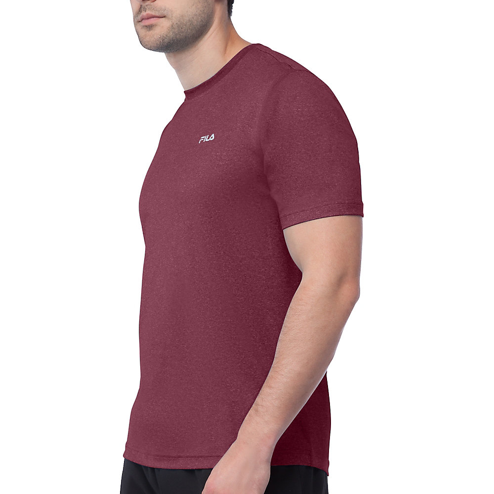 performance heather short sleeve tee in FM121P44_576_sw_e