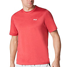 performance heather short sleeve tee in FM121P44_625_sw_e