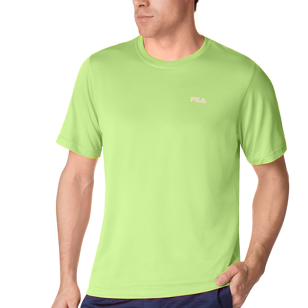 performance heather short sleeve tee in FM121P44_726_sw_e