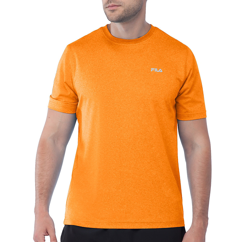 performance heather short sleeve tee in FM121P44_834_sw_e