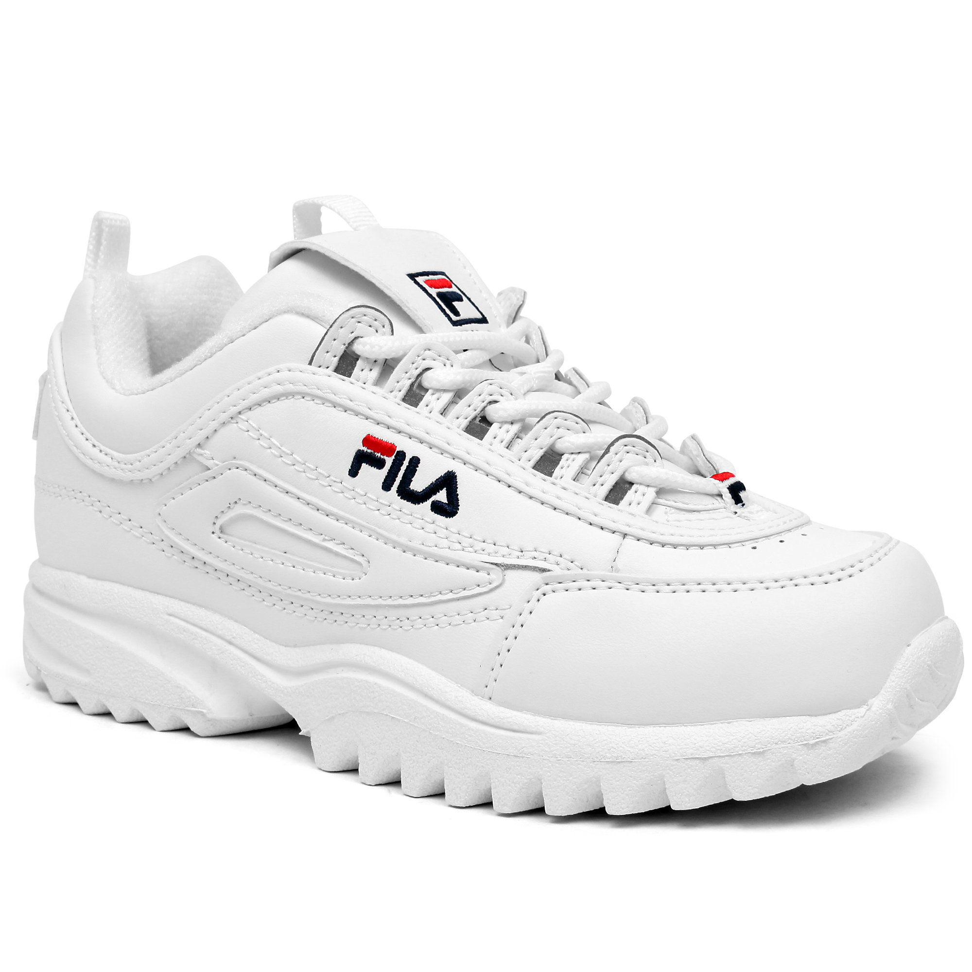 Fila Kid U0026 39 S Disruptor Ii Lea  Syn Casual Shoes