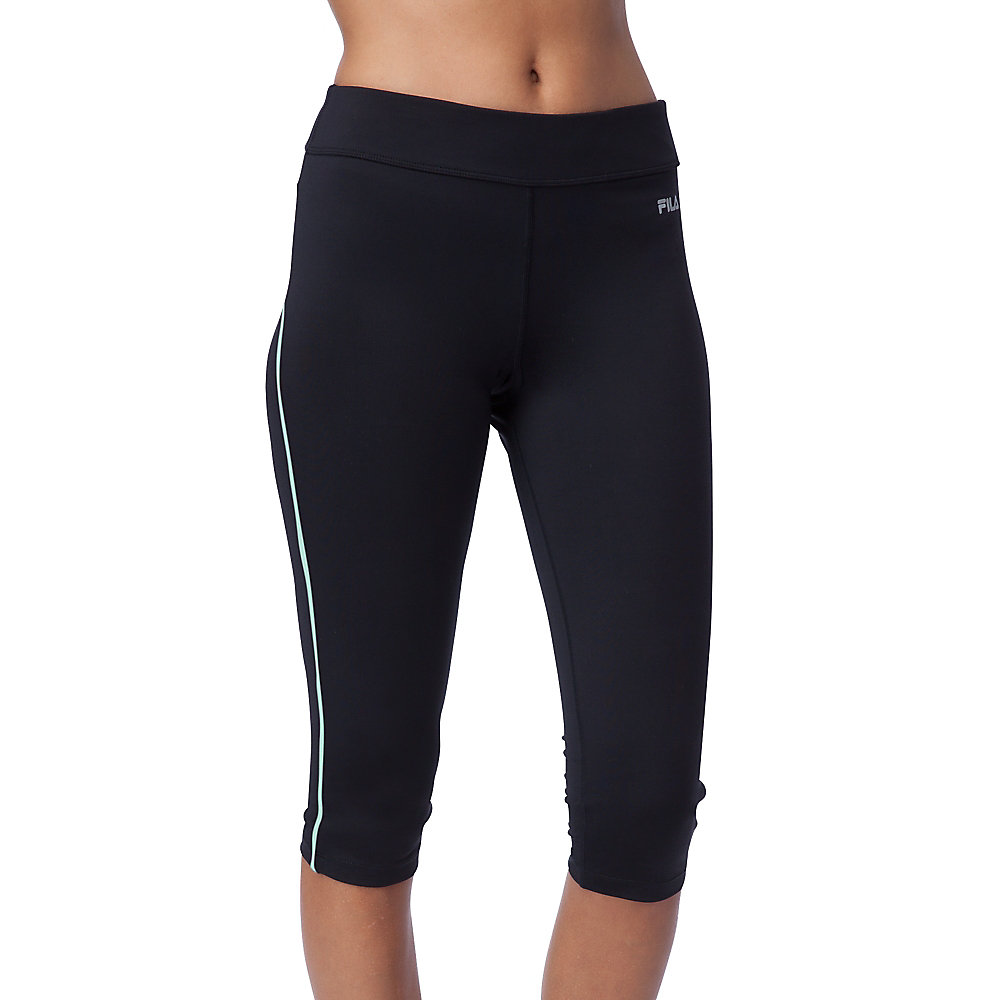 side piped tight capri in NotAvailable
