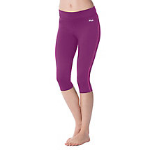 side piped tight capri in shark