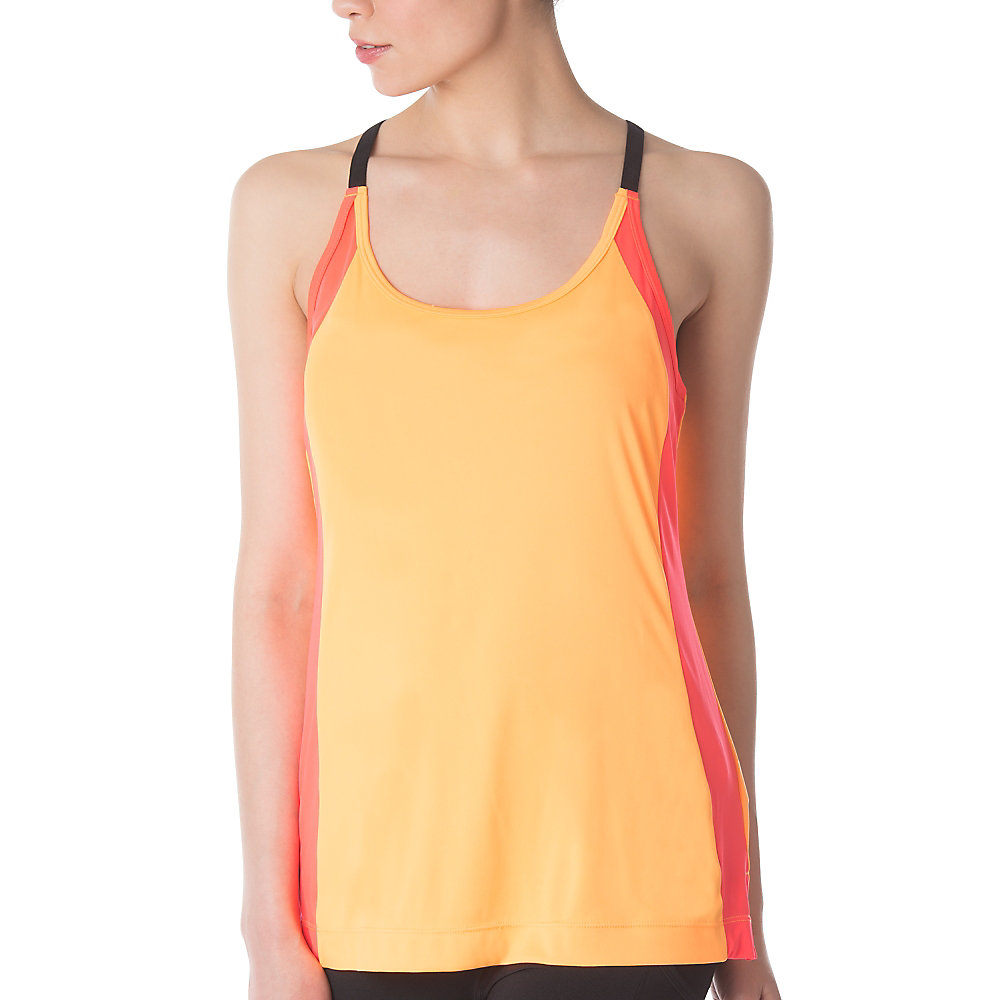 loosen up tank in orange
