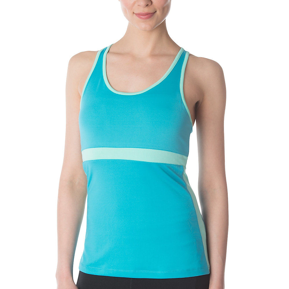 in the moment tank in aqua